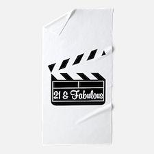 21ST SUPER STAR Beach Towel