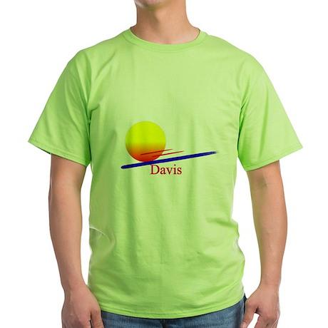 Davis Green T-Shirt