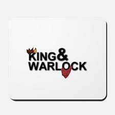 King&Warlock Mousepad