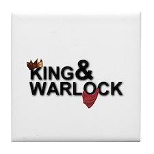 King&Warlock Tile Coaster
