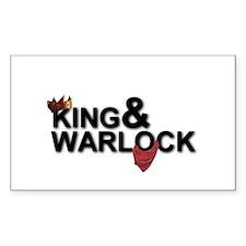 King&Warlock Decal