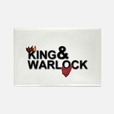King&Warlock Magnets