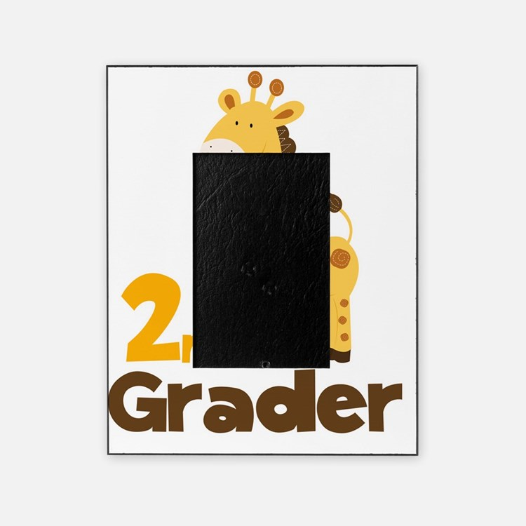 2nd Grader giraffe Picture Frame