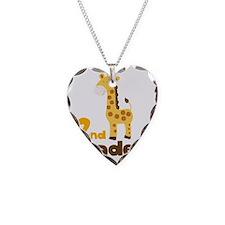 2nd Grader giraffe Necklace