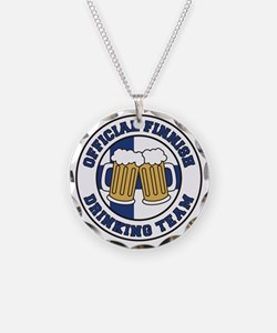 Official Finnish Drinking Te Necklace