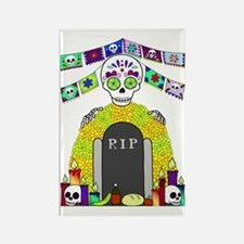 Funny All souls day Rectangle Magnet