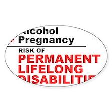 FASD Awareness- Lifelong Disabiliti Decal