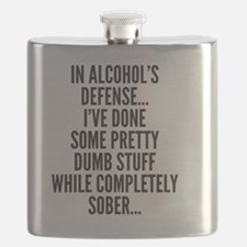 In Alcohols Defense Flask