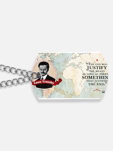 Leon Trotsky Historical Mug Dog Tags