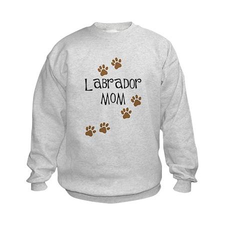 Labrador Mom Kids Sweatshirt