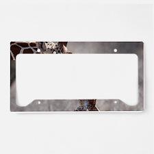 giraffes License Plate Holder
