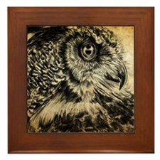 The Wise One Framed Tile