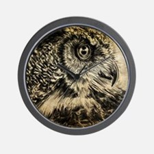 The Wise One Wall Clock