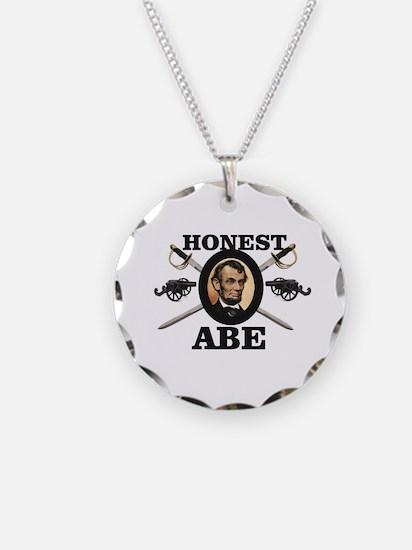 honest abe cannon Necklace
