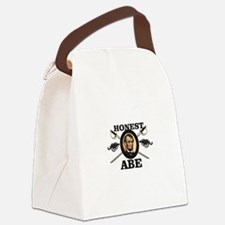honest abe cannon Canvas Lunch Bag