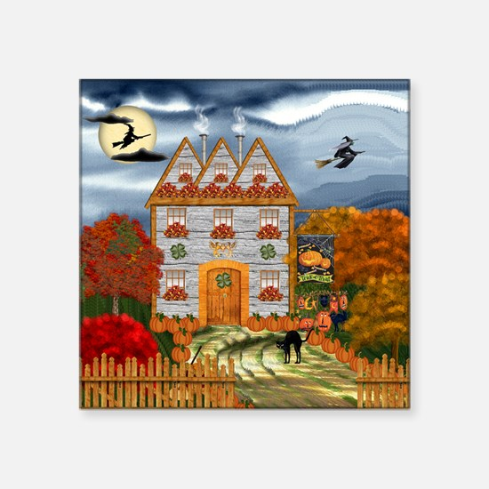 "Samhain Cottage Square Sticker 3"" x 3"""