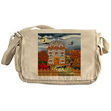 Samhain Cottage Messenger Bag