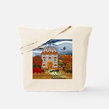 Samhain Cottage Tote Bag