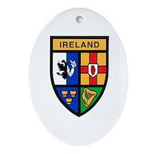 Ireland Oval Ornament