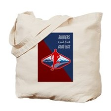 Cross Country Runner Retro Poster Tote Bag