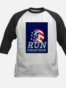 American Marathon Achieve Something Poster Basebal