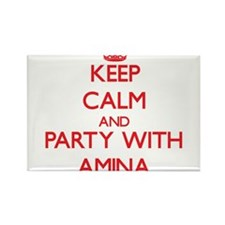 Keep Calm and Party with Amina Magnets