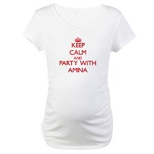 Keep Calm and Party with Amina Shirt