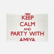 Keep Calm and Party with Amiya Magnets
