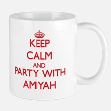 Keep Calm and Party with Amiyah Mugs
