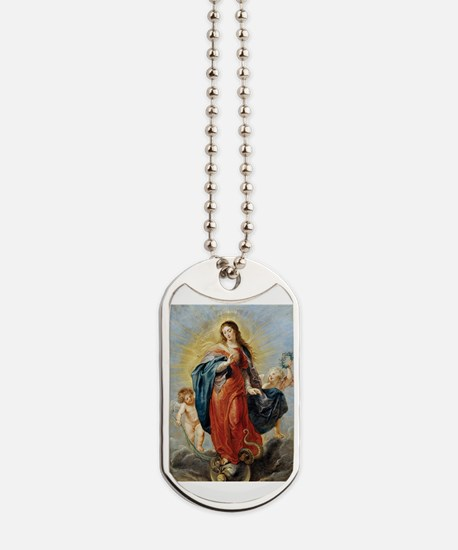Unique Oil painting Dog Tags