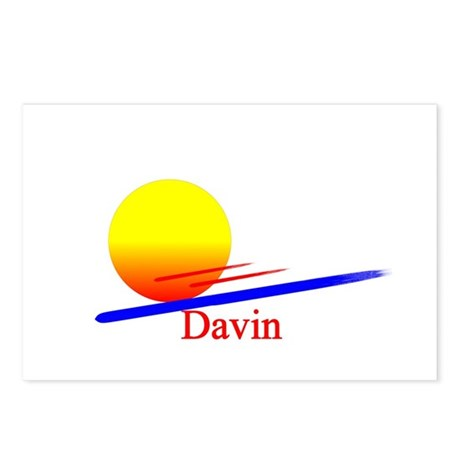 Davin Postcards (Package of 8)