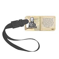 Herman Melville Historical Mug Luggage Tag