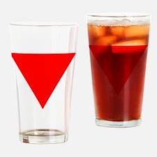 Funny Anti fascism Drinking Glass