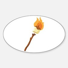 Marshmallow Roast Decal