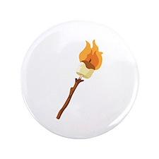 """Marshmallow Roast 3.5"""" Button (100 pack)"""