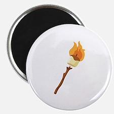 Marshmallow Roast Magnets