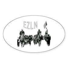 EZLN Oval Decal