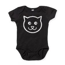 Cat Face Baby Bodysuit