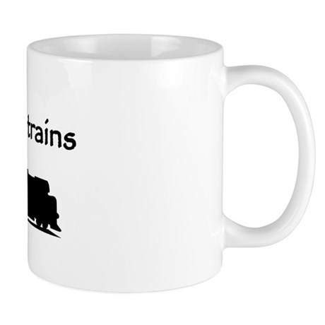 Still Plays With Trains Mug