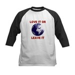 Love It or Leave It Kids Baseball Jersey