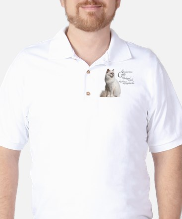 Birman Cat Golf Shirt