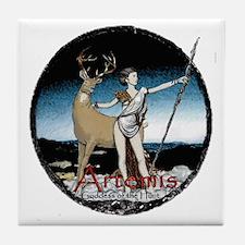 Artemis  Tile Coaster