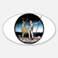 Artemis Oval Decal