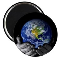 "Precious Earth 2.25"" Magnet (10 pack)"