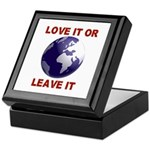 Love It or Leave It Keepsake Box