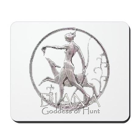 Diana: Goddess of the hunt Mousepad