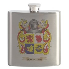 MacIntosh Coat of Arms - Family Crest Flask