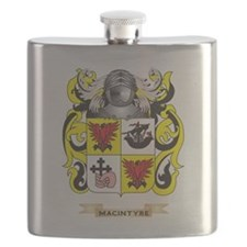 MacIntyre Coat of Arms - Family Crest Flask