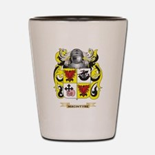 MacIntyre Coat of Arms - Family Crest Shot Glass
