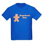 Gingerbread Man Kids Dark T-Shirt